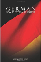German: How to Speak and Write it (Joseph Rosenberg) image