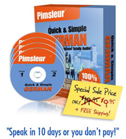 The Pimsleur Course (German) image